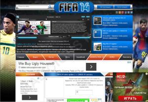 FIFA-malicious-page