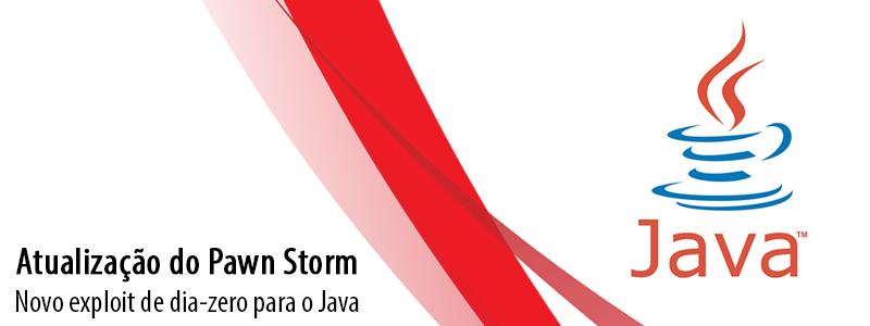 Atualização do Pawn Storm: Novo exploit de dia-zero para o Java