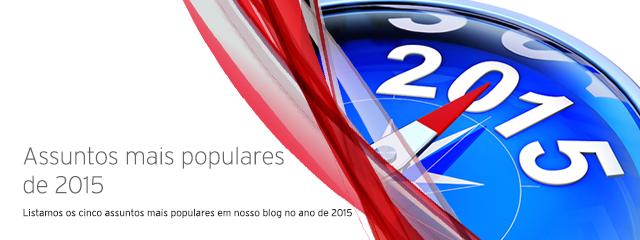 Assuntos mais populares de 2015